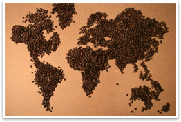 Global coffee beans